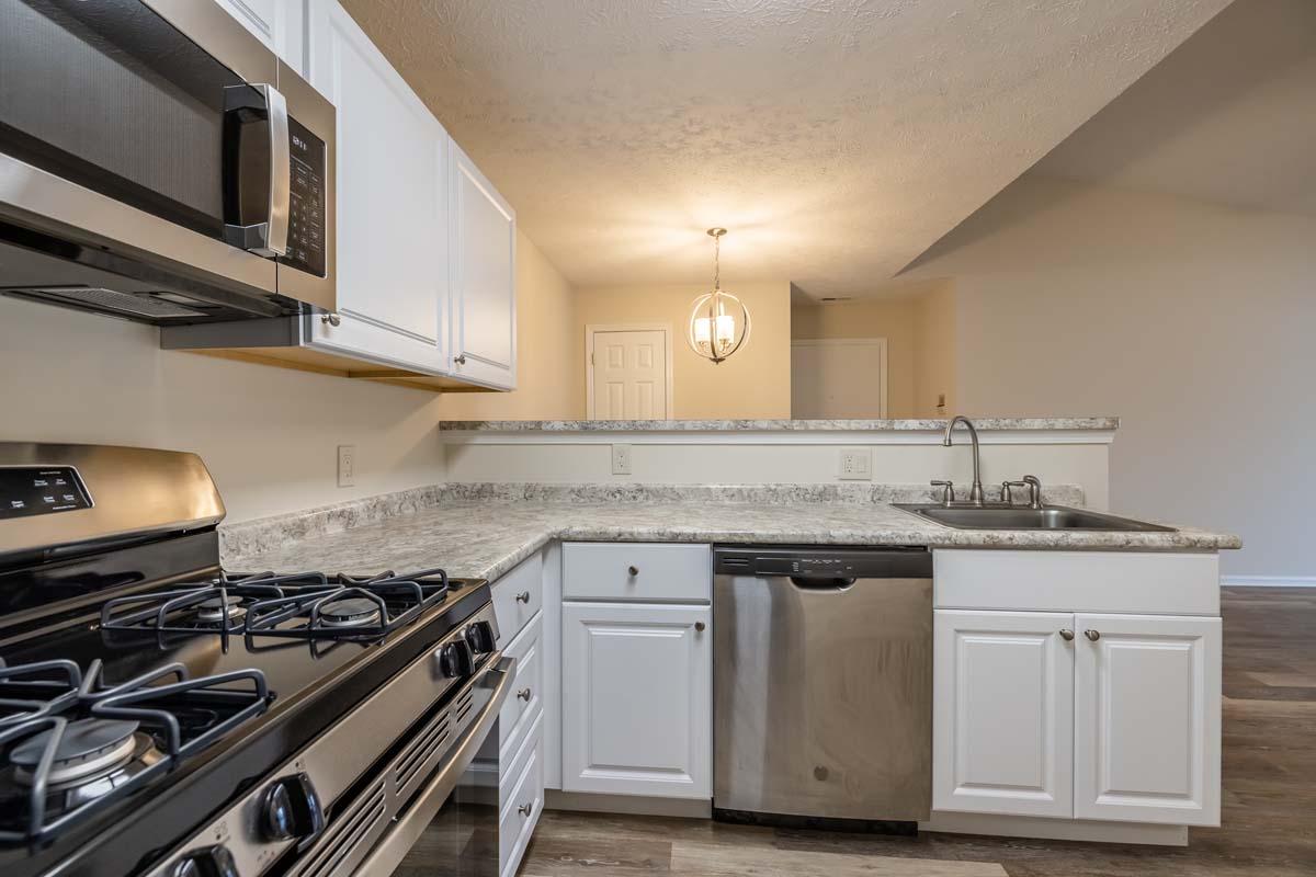 Lac De Ville: New 2 Bedroom, 1 Bath - Kitchen